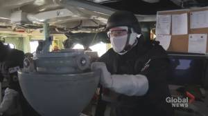 Sights and sounds of Cutlass Fury aboard HMCS Toronto (03:14)