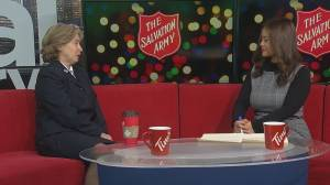 The Salvation Army launches its annual Christmas Kettle campaign