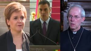 Prince Philip death: U.K. leaders, Spanish PM and Archbishop of Canterbury pay tribute (03:48)