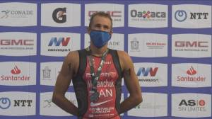 Canadian Triathlete primed for Olympic success (02:15)
