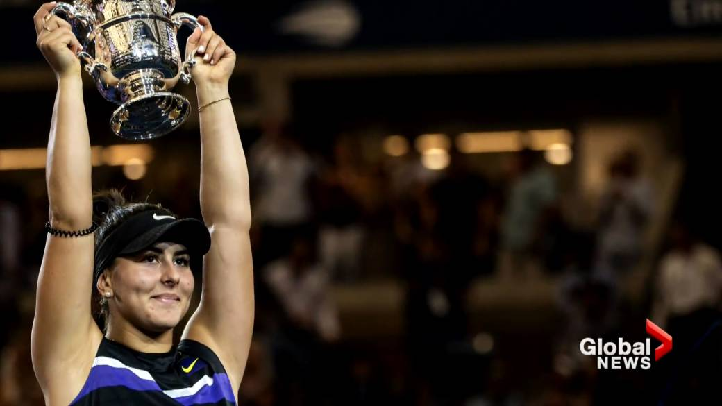 Click to play video: 'Canadian Bianca Andreescu, defending U.S. Open champion, pulls out of upcoming Grand Slam'