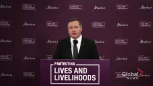 Premier Jason Kenney describes Alberta birthday party COVID-19 outbreak (01:18)