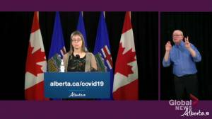 Alberta identifies 967 new COVID-19 cases, additional 21 deaths recorded (00:57)