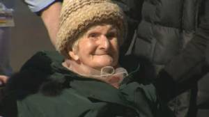Canada's oldest living person vaccinated for COVID-19 (02:14)