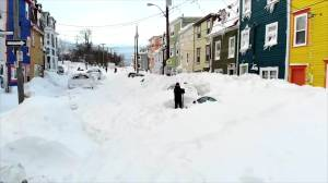 Newfoundland shoveling-out after historic blizzard