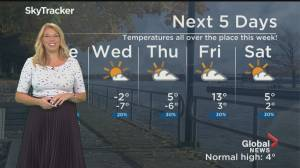 Global News Morning weather forecast: TUESDAY, November 17, 2020 (01:53)