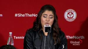 'Pressure is a privilege': Canadian tennis champ Bianca Andreescu