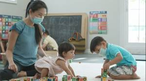 Ontario child-care workers soon eligible to get COVID-19 vaccine (02:14)