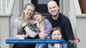 Coronavirus: Photographer capturing GTA families from a distance