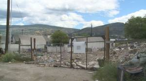 Waste pile on Penticton Indian Band land disappears