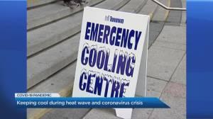 Keeping cool during the 1st heat wave amid coronavirus crisis
