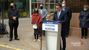 Regina Mayor Michael Fougere wants property tax freeze as he seeks re-election