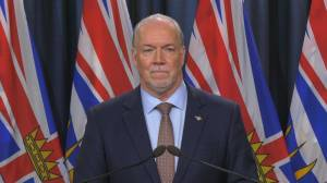Premier John Horgan on what $343B federal deficit means to B.C. infrastructure projects
