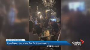 King Street West bar in Toronto under fire for indoor party