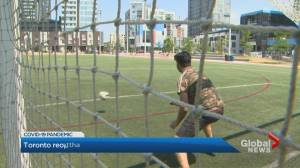 Coronavirus: Toronto reopens outdoor sports fields with restrictions