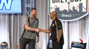Grey Cup coaches sit down for Q-and-A in Calgary