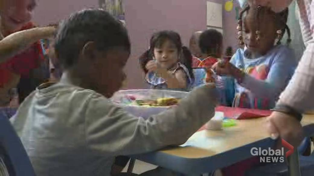 Click to play video: 'Federal Budget invests heavily in childcare'