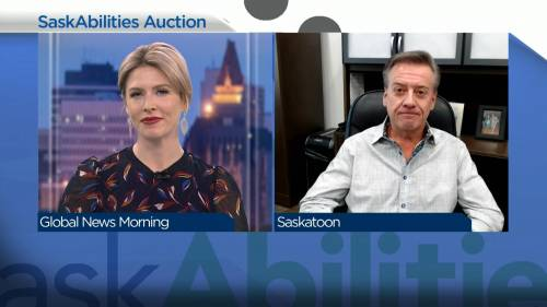 SaskAbilities raising funds through holiday auction | Watch News Videos Online