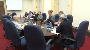 The committee for the Mayor's Task Force on Kingston's housing crisis continue to meet