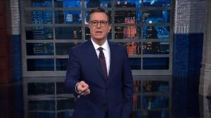 Stephen Colbert calls Mitt Romney's speech 'inspiring'