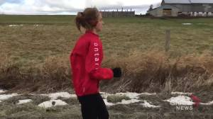 Adam Scott student races her way to Canadian Cross Country Championship