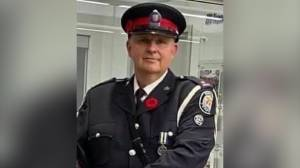 Toronto police officer killed in line of duty laid to rest in private funeral (02:40)