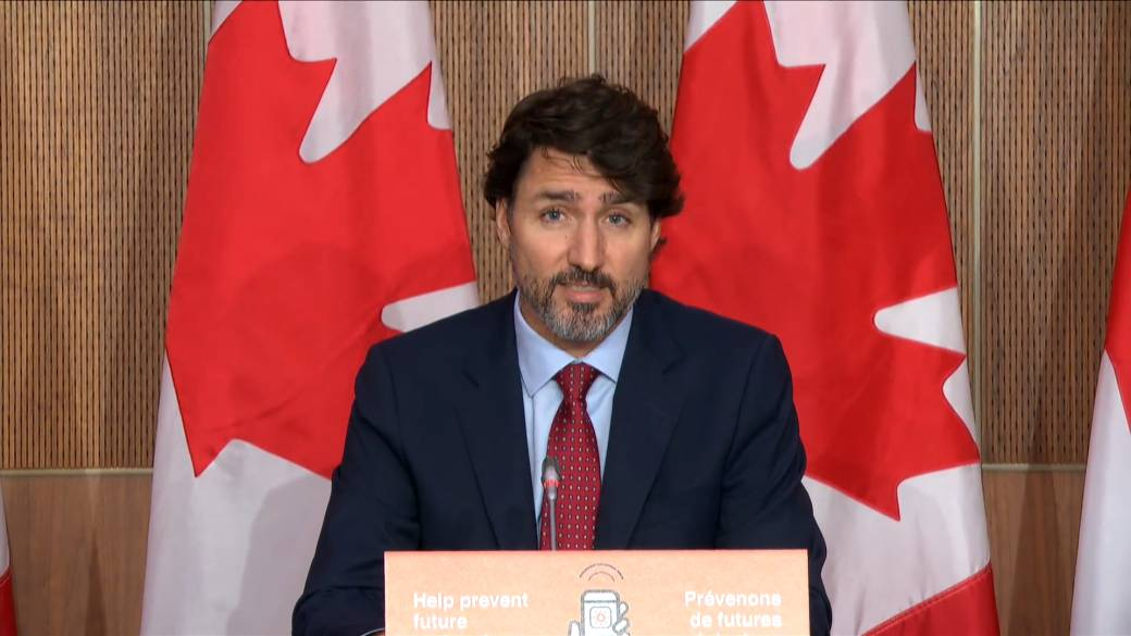Click to play video 'Coronavirus: Trudeau says Feds to add $600 million to business relief fund'