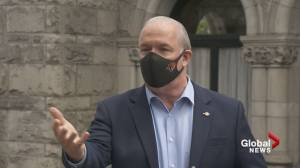 Premier John Horgan on why face masks aren't mandatory in B.C.
