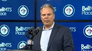 RAW: Winnipeg Jets Kevin Cheveldayoff – Sept. 30