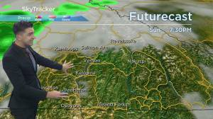 Kelowna Weather Forecast: August 21