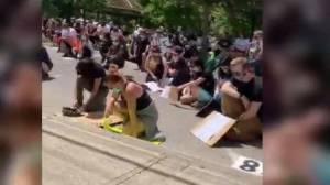 Dozens attend peaceful Black Lives Matter protest in Lindsay