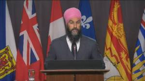 NDP signal they will not support election, won't say how they will vote on motion (02:38)