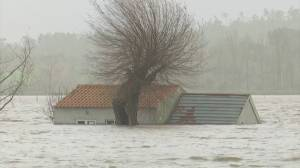 Storm Fabian slams Portugal, Spain with severe winds and flooding