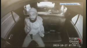 Toronto police in-car video shows handcuffed suspect pull out gun in back of cruiser