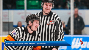 Behind The Game: Referee Fraser Lawrence