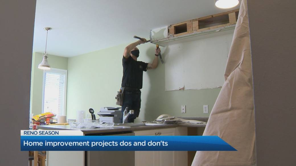 Click to play video: 'Home improvement dos and don'ts for your next renovation'