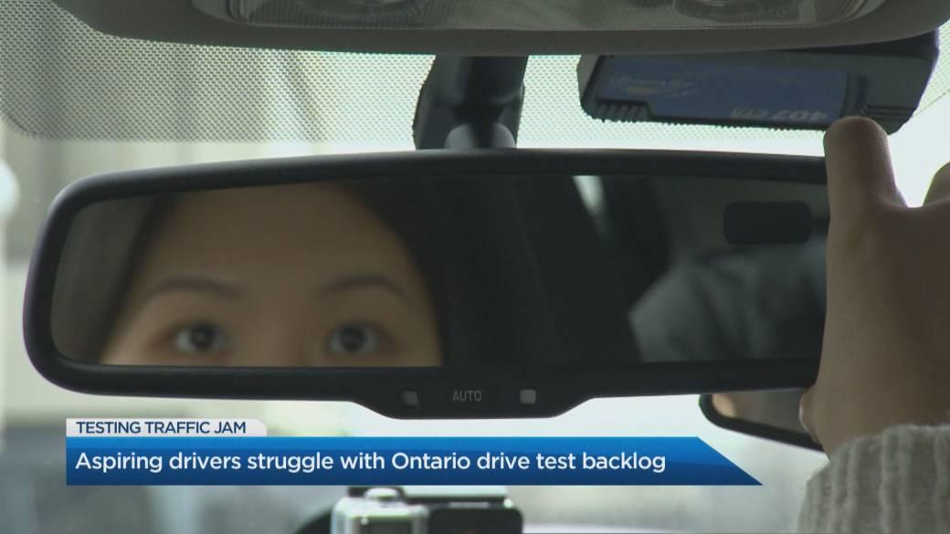 Click to play video: 'Ontario drive test backlog creating hurdles for aspiring drivers'