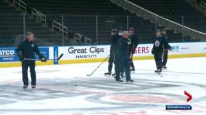 Oilers prepare to take on Avalanche Thursday night