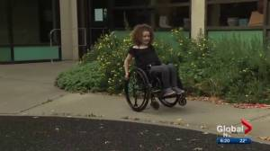 Alberta girl with ALS-like disorder to be recognized for courage