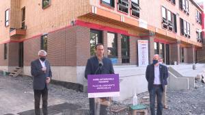 Federal government grants $7.4 million for affordable housing in Kingston (01:52)