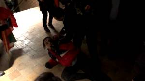 Protesters escorted out of vigil for Iran plane crash victims in Toronto