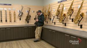Calgary musician hopes stolen saxophones turn up on social media