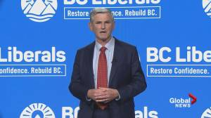 'Today John Horgan chose politics over people': BC Liberal Leader Andrew Wilkinson on election