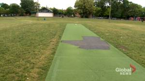 Players up in arms after Montreal's Van Horne Park cricket pitch damaged by vandals (01:57)