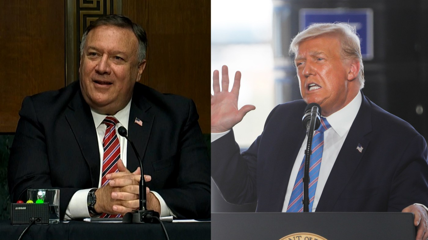 Pompeo says he'll follow Constitution when pressed on Trump's suggestion to  delay election | Watch News Videos Online