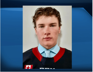 Peterborough minor Pete product Lucas Moore hopes to hear his name called in OHL draft (02:06)