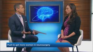 The push for more female neurosurgeons (03:43)
