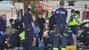 Five men found overdosing on Vancouver beach (00:32)