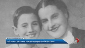 Holocaust survivors share message amid COVID-19 pandemic (02:27)