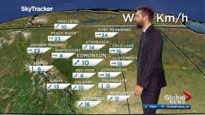Edmonton afternoon weather forecast: Friday, December 4, 2020 (04:17)